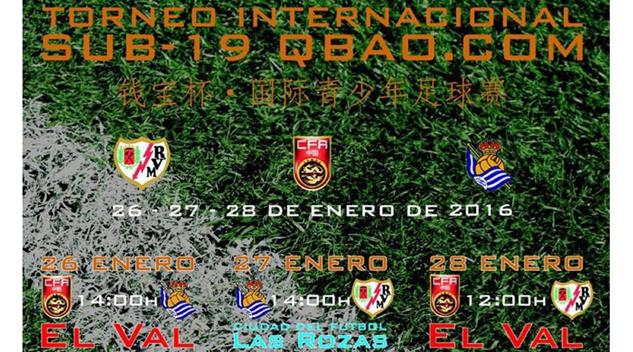 Alcalá acoge el Torneo Internacional de fútbol Qbao.com