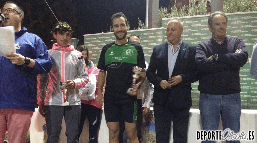 Antonio Santos de Ajalkalá se sube al podio en la XIX Milla de la Ciudad de Guadalajara