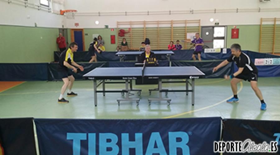 Ascenso y doble derby en una jornada apasionante del Tenis de Mesa Alcalá