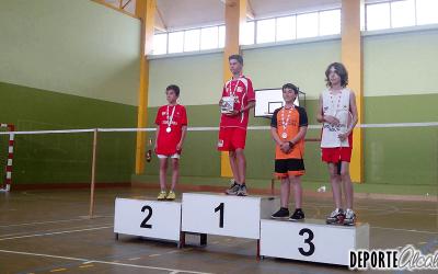 Bádminton Alcalá arrasa en el campeonato escolar
