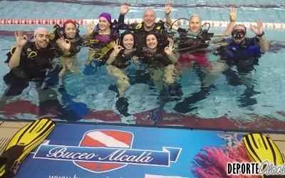 Buceo Alcalá se sumerge con OFM en las piscinas de Alcalá