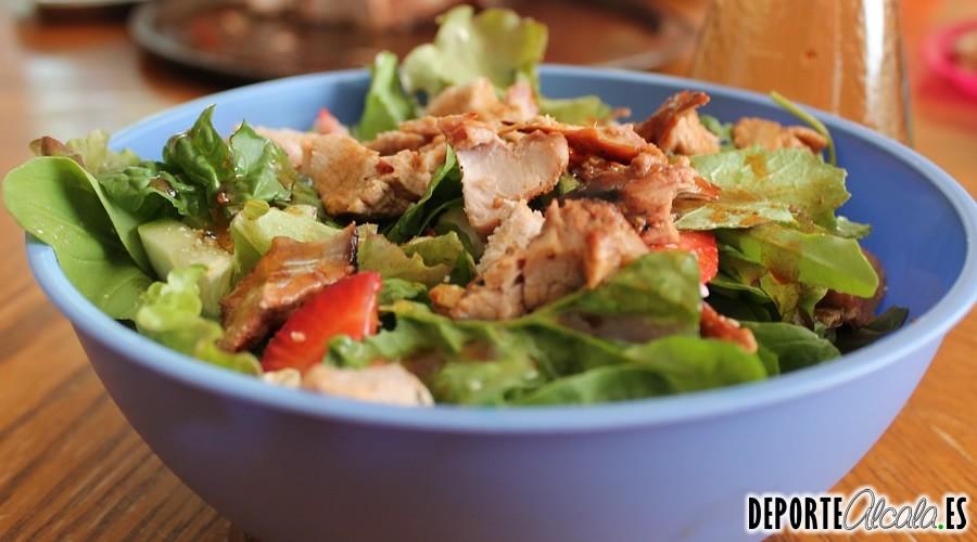 Cómo perder grasa comiendo fuera de casa