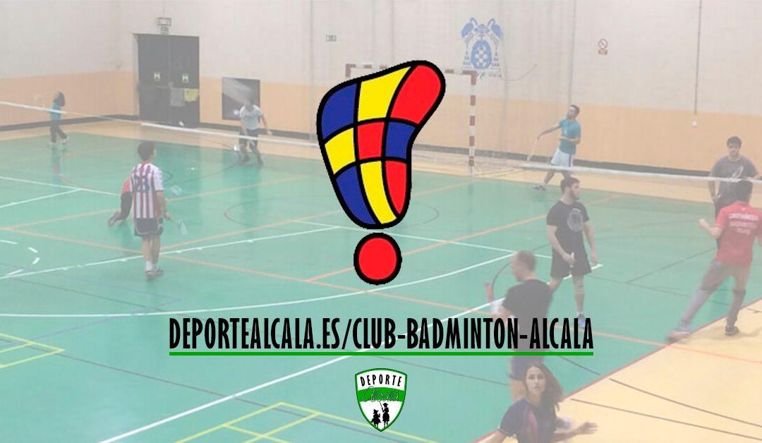 ¡Únete al Club Bádminton Alcalá!