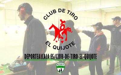 El Club de Tiro Quijote triunfa en el Open Internacional Alcor