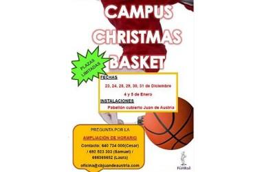 Comienza el Campus Christmas Basket del CBJA
