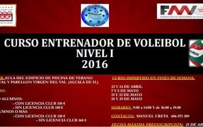 Conviértete en entrenador de Voley con CV Alcalá