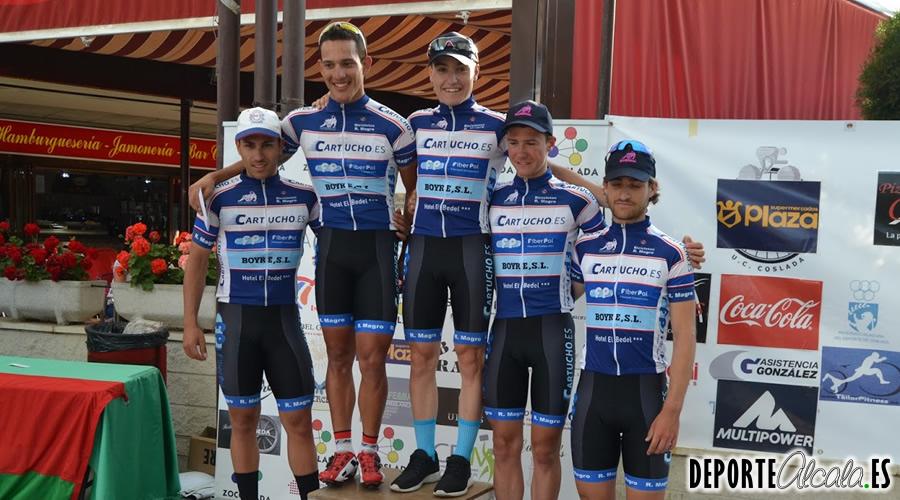 El EC Cartucho.es se impone en el III Gran Premio Salchi Bicicletas