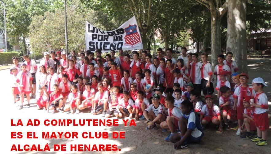 El AD Complutense se convierte en el mayor club de Alcalá