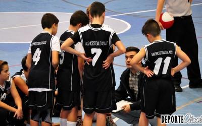 El Alevín de Baloncesto Alcalá gana con solvencia a Olímpico 64