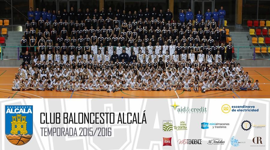 El Baloncesto Alcalá se hace la foto de familia