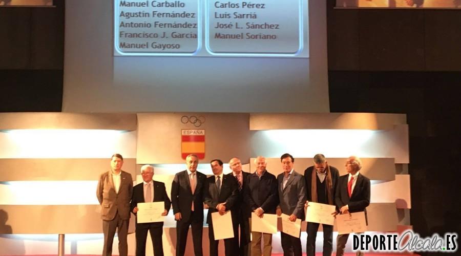 El COE homenajea al Presidente del Ajalkalá, Antonio Fernández