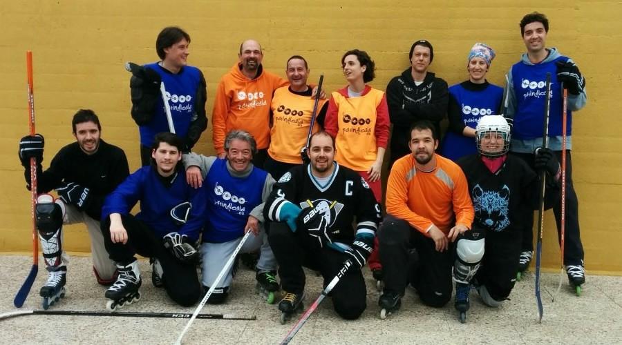 El Patín Alcalá se queda sin jugar en la pista de hockey del Val