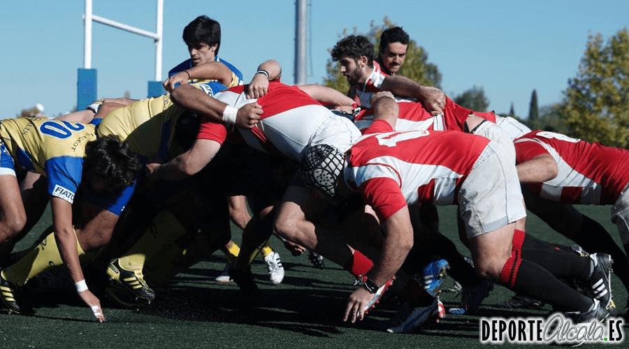 El Rugby Alcalá deja escapar la victoria en la última jugada