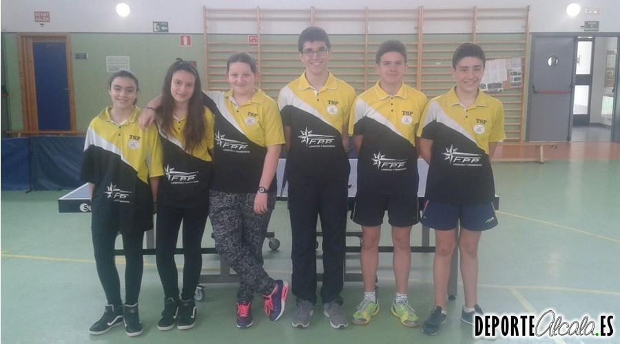 El Tenis de Mesa Alcalá-Villalbilla logra el ascenso