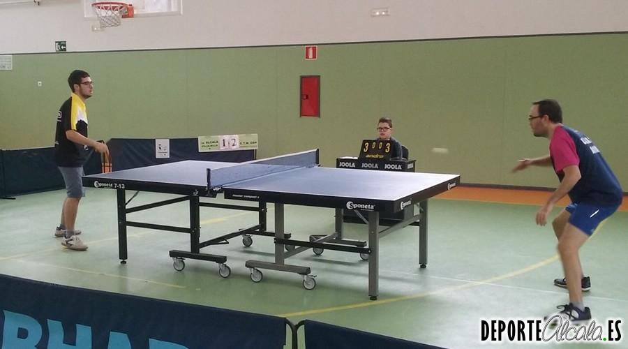 El Tenis de Mesa Alcalá comienza el año con doble derbi