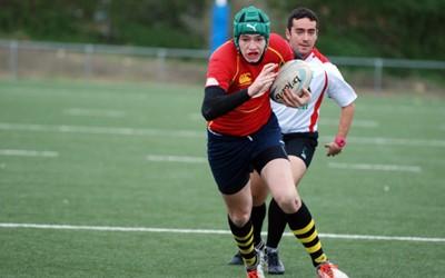 El alcalaíno Facundo López, convocado con la selección de España sub18 de rugby