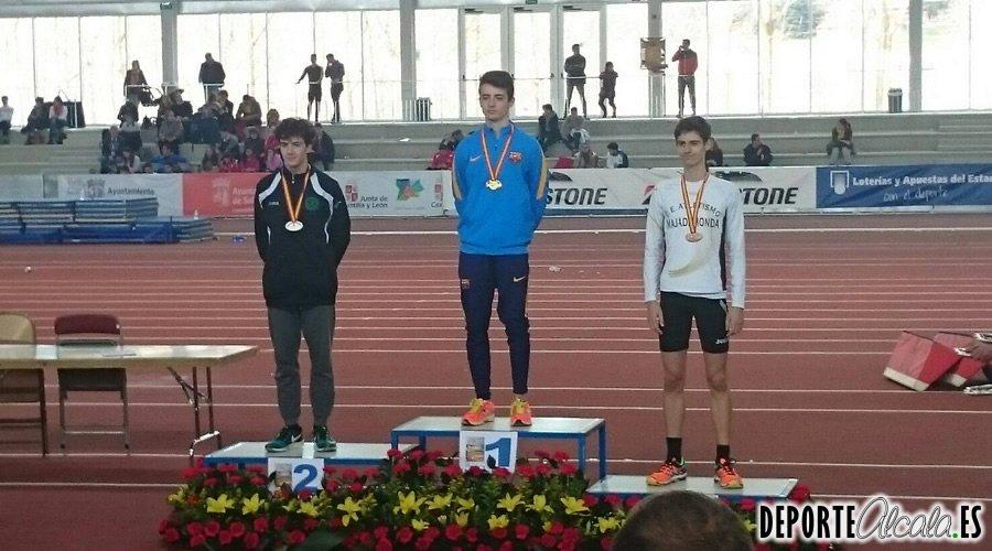 El atleta complutense Iván Alba, subcampeón juvenil de España