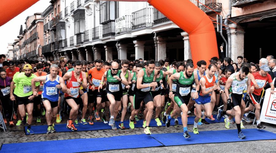 El atletismo de Alcalá de Henares inunda las calles complutenses