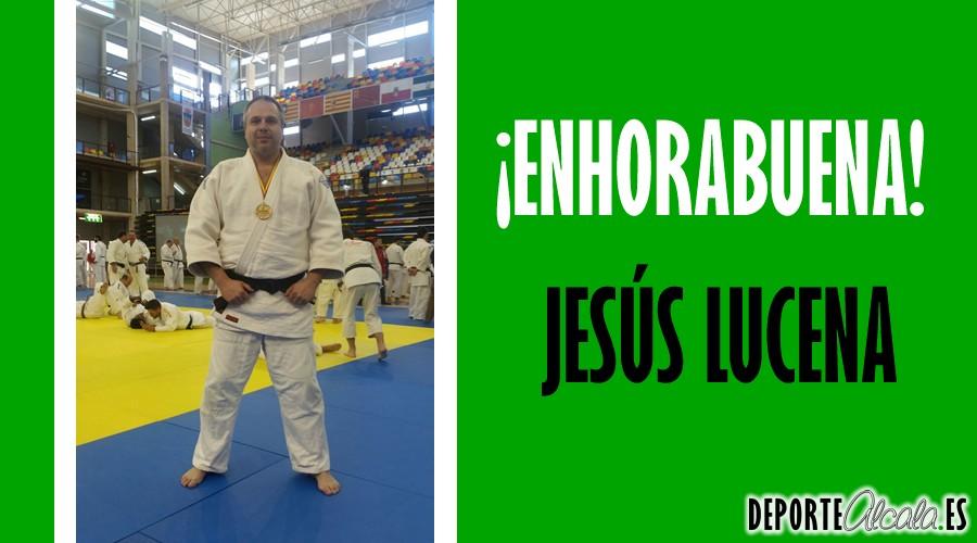 El judoka alcalaíno Jesús Lucena, bronce en el Campeonato de España
