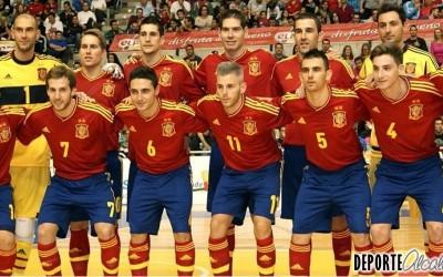 Espartales acoge a la Selección de Fútbol Sala masculina