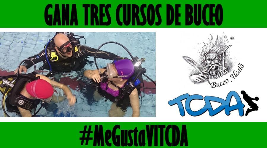 ¡Gana tres cursos de buceo disfrutando el VI TCDA de Baloncesto Alcalá!