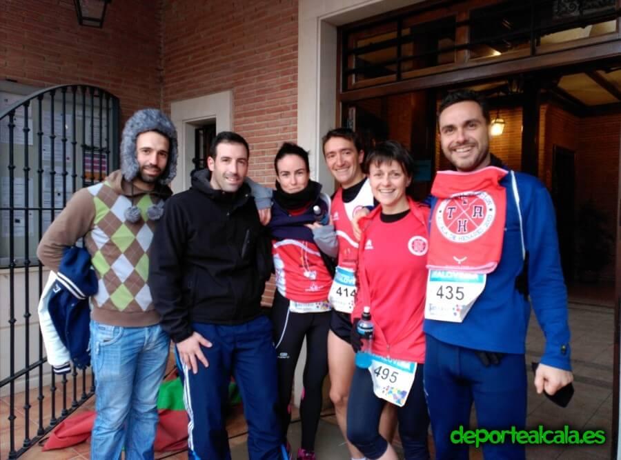 Gran actuación en la carrera popular de Alovera de siete triatletas del Complutum Triatlón