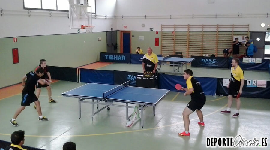 Gran fin de semana para el Tenis de Mesa Alcalá
