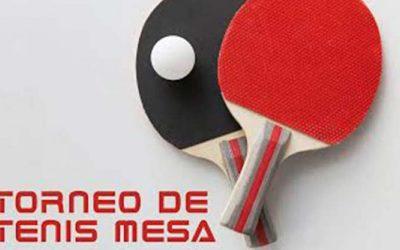 I  Torneo de Tenis de Mesa «Otra Forma de Moverte»