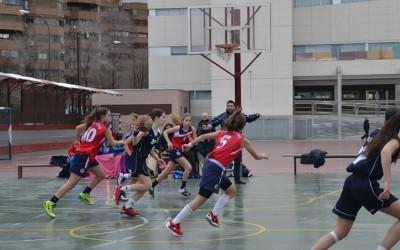 Importante victoria de las Cadete del Baloncesto Alcalá en Corazonistas