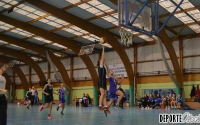 Las Cadete A del Baloncesto Alcalá vencen en el último suspiro
