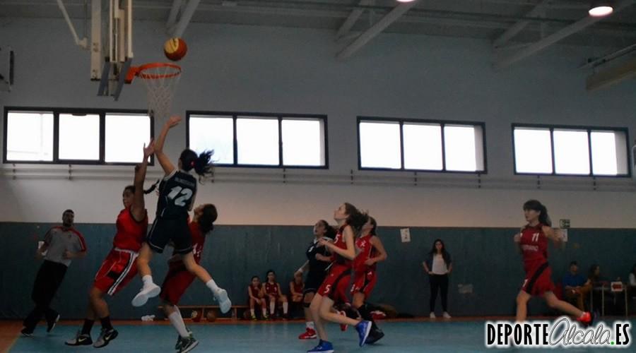 Las Infantiles de Baloncesto Alcalá comienzan el año con una gran victoria