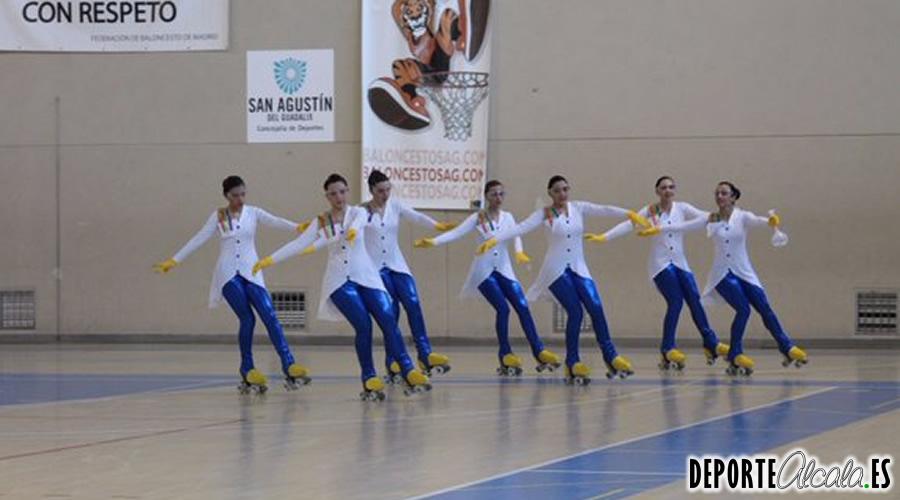 Las patinadoras del GSD Alcalá debutan en el Cto. Autonómico