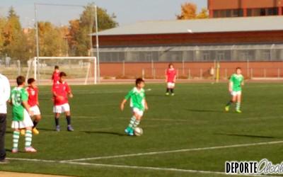 Los Alevines del AD Chorrillo golean al Villalba CF