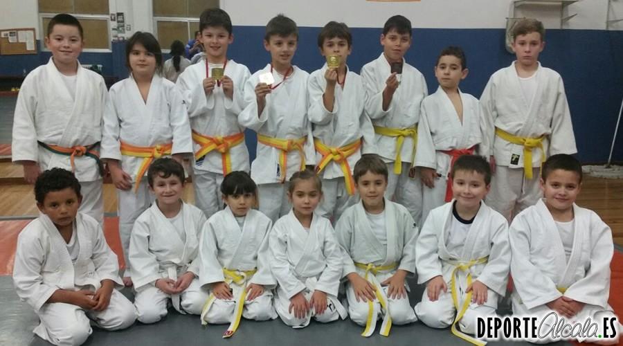 Los judocas del Gimnasio Alcalá 2000 consiguen el bronce en el Memorial Emilio Peralta