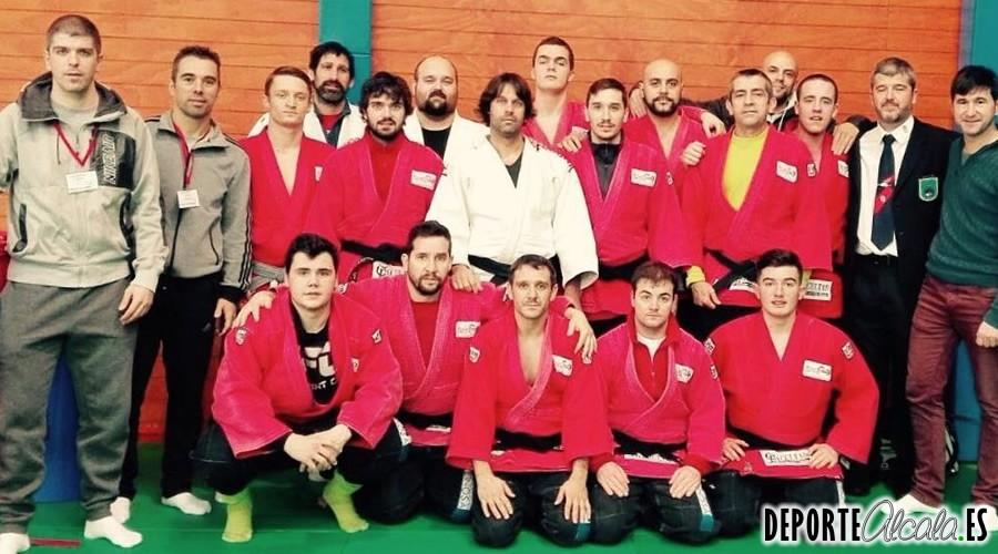 Los judokas del gimnasio Alcalá 2000 vuelven a luchar por el Cto. Liguero