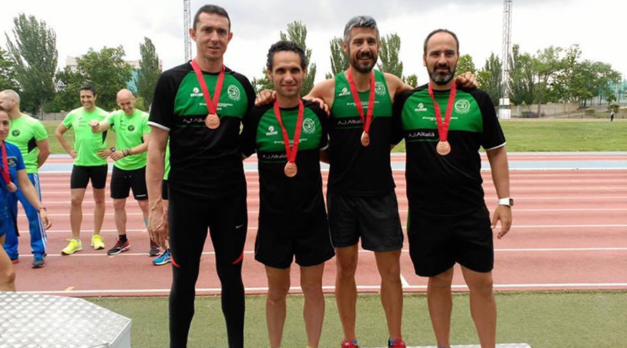 Los veteranos del Ajalkalá cosechan 16 medallas en el Campeonato de Madrid