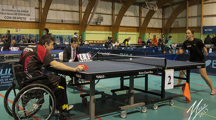 Más de 200 jugadores en el III Torneo de Tenis de Mesa Ciudad de Alcalá