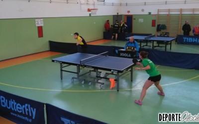 Mal fin de semana para el Tenis de Mesa Alcalá