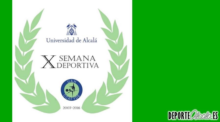 Ya llega la Semana Deportiva de CCAFYDE de la UAH