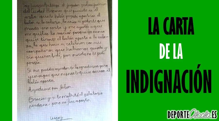 Ni la carta de Arteaga ayudó a rebajar su injusta sanción