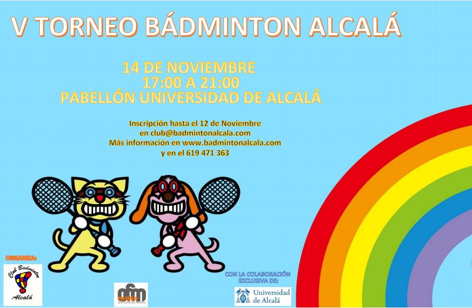 Participa en el V Torneo Otoño de Bádminton Alcalá