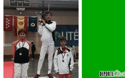 Plata para Álvaro Munuera en el Campeonato Provincial de Esgrima