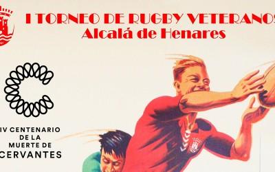 Rugby Alcalá homenajea a Cervantes con un partido de veteranos nacional
