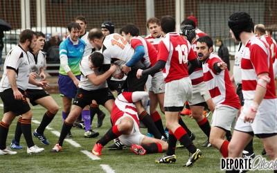 Rugby Alcalá coge aire a costa de Airbus Aeronáuticos