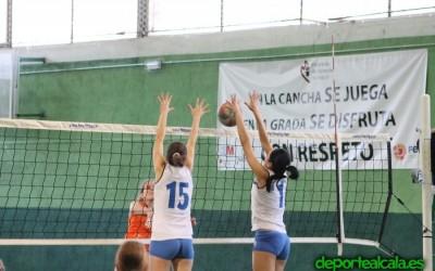 Victoria trabajada de las senior del CV Alcalá sobre Voley 13