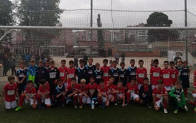 Los Benjamines del RSD Alcalá debutan en liga con grandes victorias