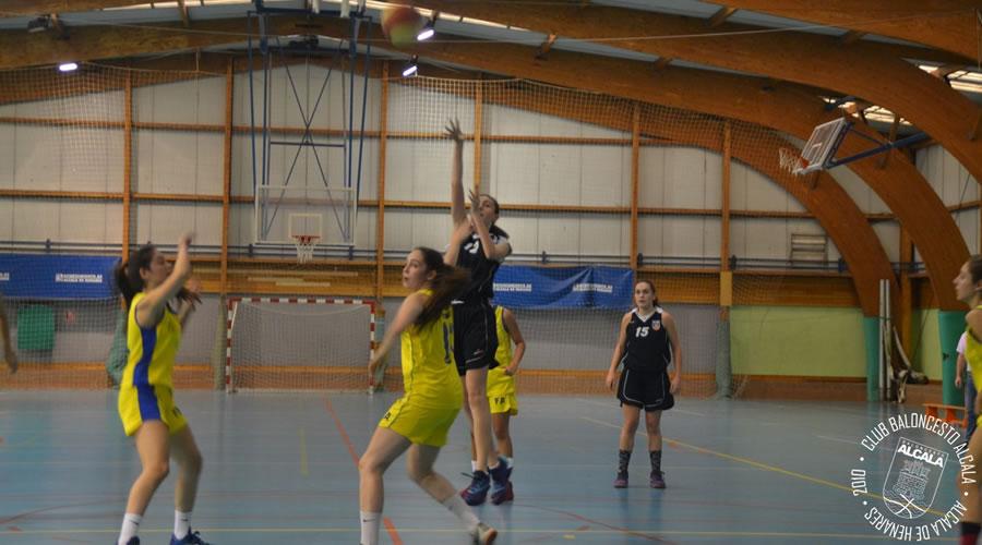 Las Cadetes del Baloncesto Alcalá no pueden con Zona Press