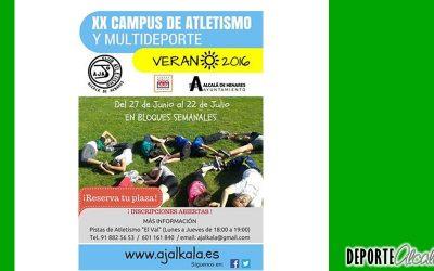 Únete al XX Campus de Atletismo y Multideporte de Ajalkalá