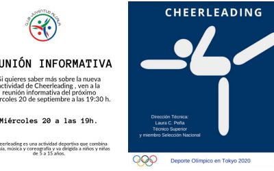 ¡Practica el Cheerleading de la mano de Juventud Alcalá!