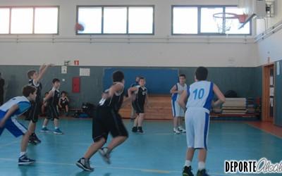 Victoria complicada del Alevín del Baloncesto Alcalá ante Valdemoro